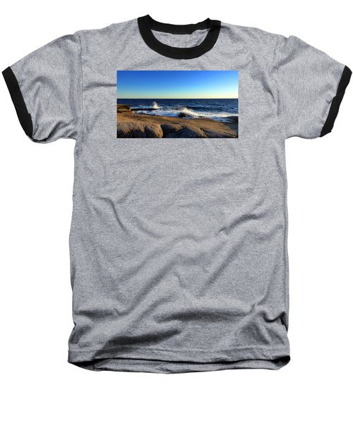 Blue Atlantic Baseball T-Shirt