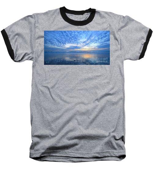 Beach Home Blues Baseball T-Shirt