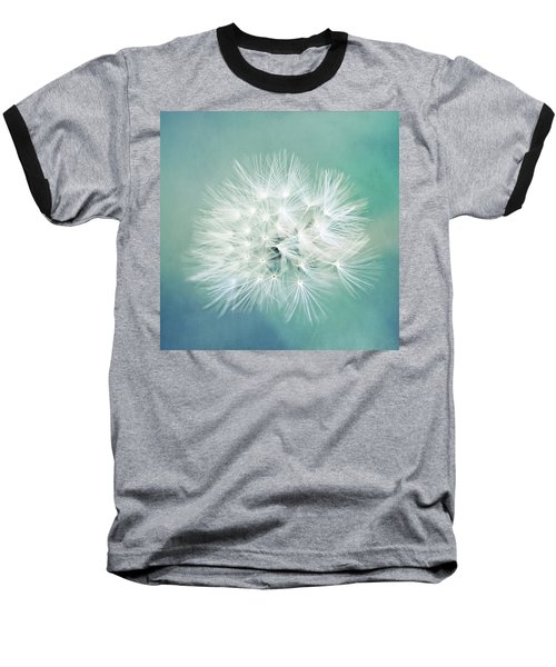 Baseball T-Shirt featuring the photograph Blue Awakening by Trish Mistric