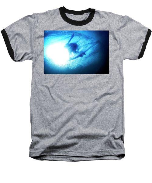 Blue Barrel Baseball T-Shirt