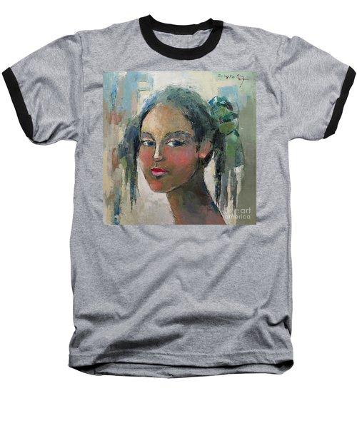 Blue Eyes Baseball T-Shirt