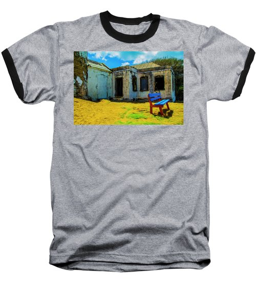 Blue Bench Baseball T-Shirt