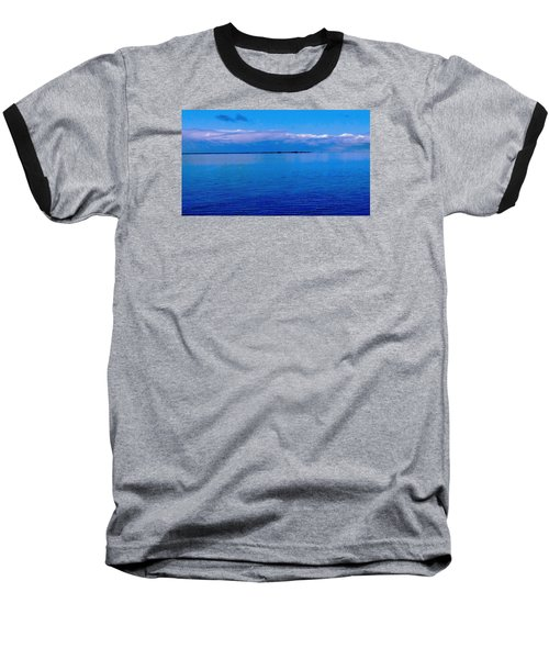 Blue Blue Sea Baseball T-Shirt