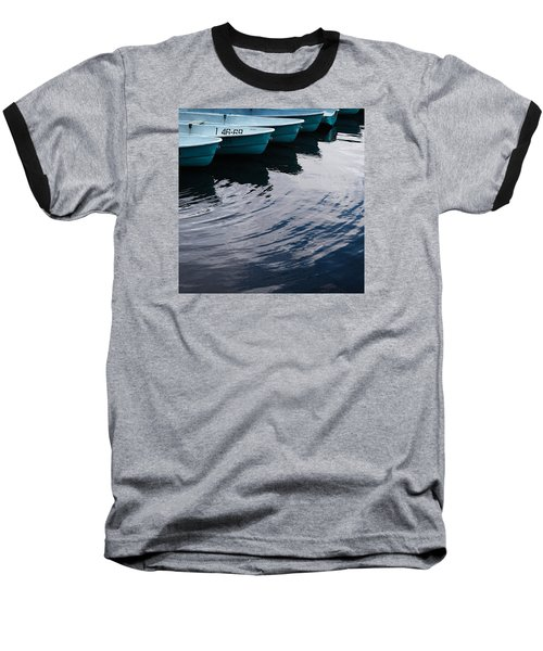 Blue Boat Baseball T-Shirt