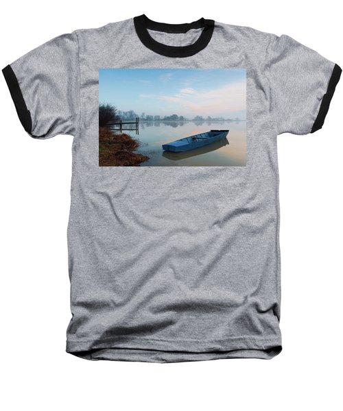 Blue Boat Baseball T-Shirt