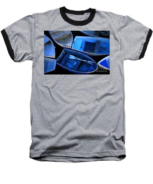 Blue Boats Baseball T-Shirt