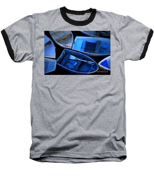 Blue Boats Baseball T-Shirt