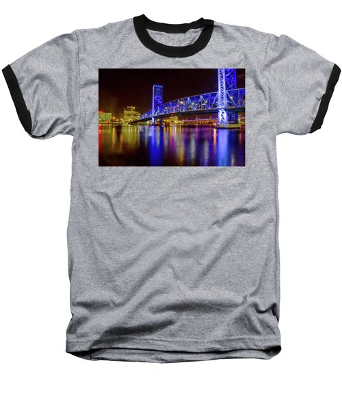 Blue Bridge 2 Baseball T-Shirt