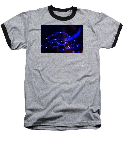 Blue Bubbles Baseball T-Shirt