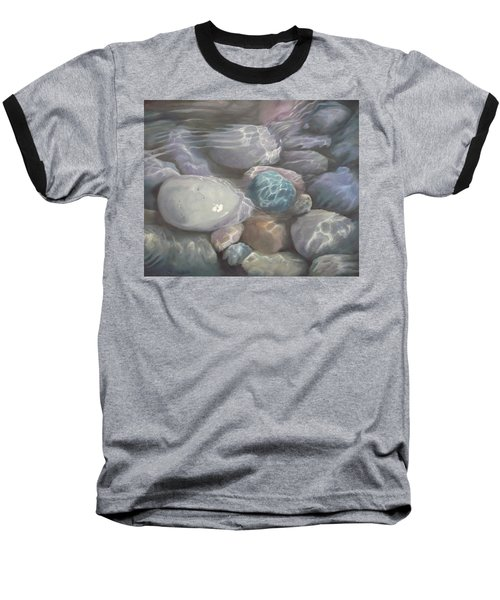 Blue Calm Baseball T-Shirt