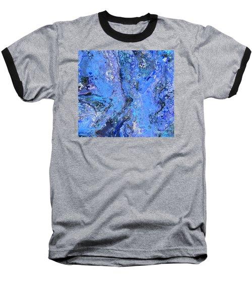 Blue Capri Baseball T-Shirt