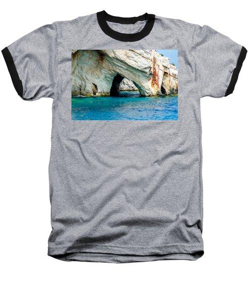 Blue Cave 4 Baseball T-Shirt