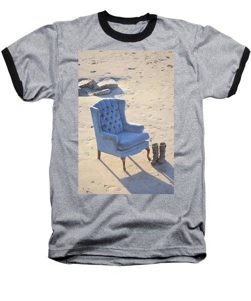 Blue Chair Baseball T-Shirt