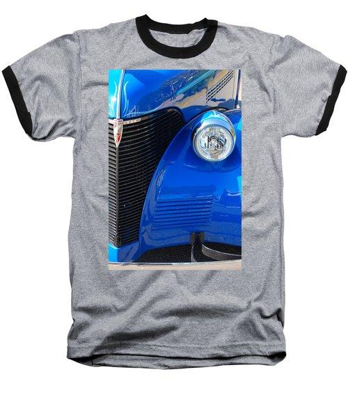 Blue Chevy Baseball T-Shirt