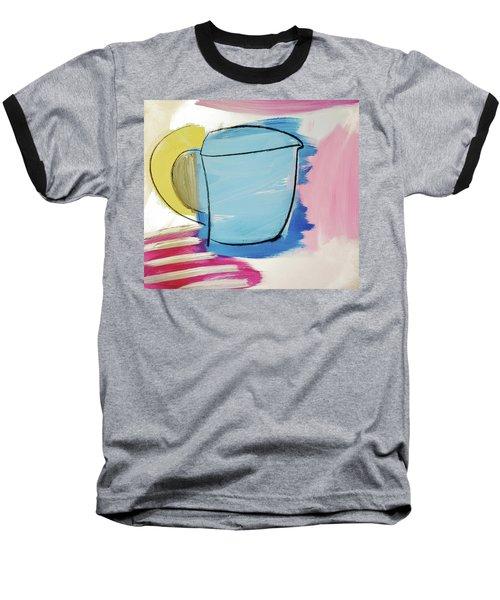 Blue Coffee Mug Baseball T-Shirt