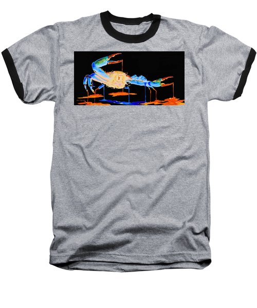 Blue Crab Two Baseball T-Shirt