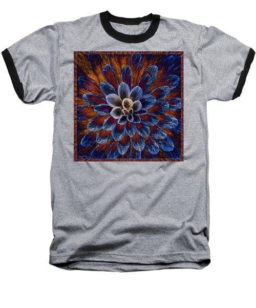 Blue Dahlia Baseball T-Shirt