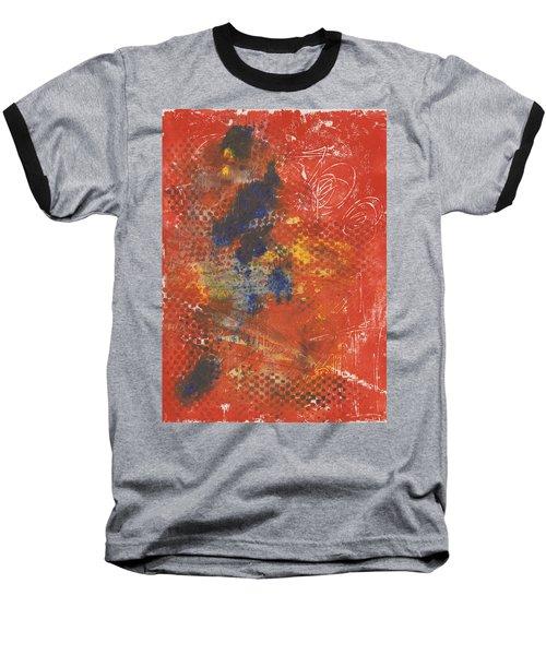 Blue Dancer Baseball T-Shirt