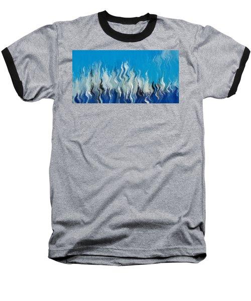 Blue Mist Baseball T-Shirt