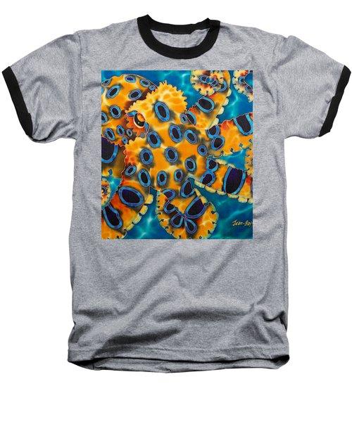 Blue Ringed Octopust Baseball T-Shirt