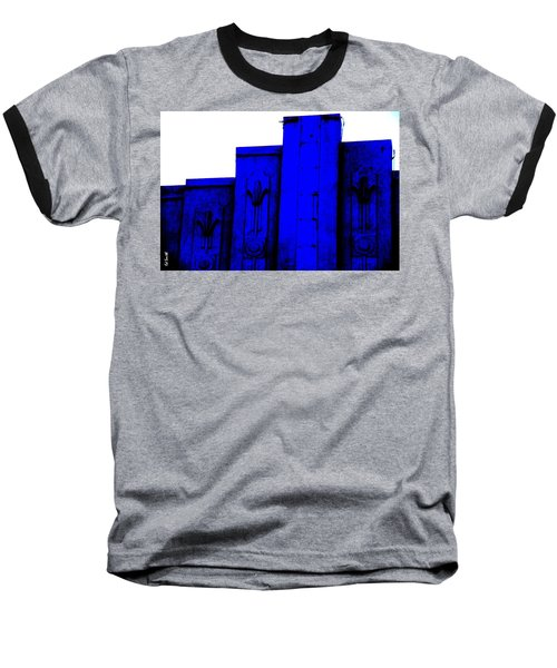 Blue Deco Baseball T-Shirt