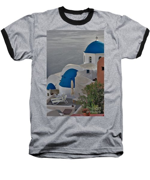 Blue Domes Baseball T-Shirt