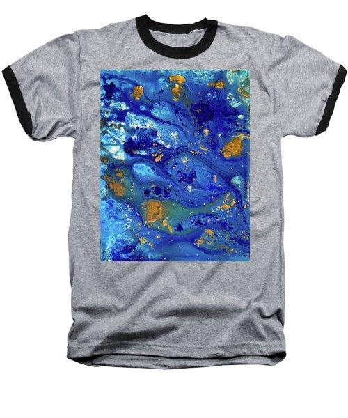 Blue Dream Baseball T-Shirt by Sean Brushingham