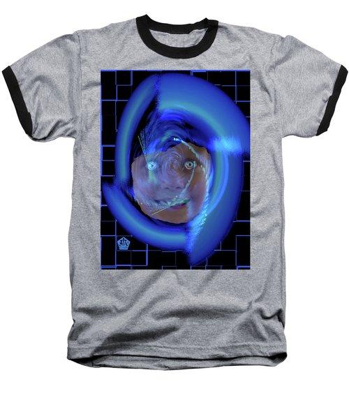 Blue Eyed Girl Baseball T-Shirt