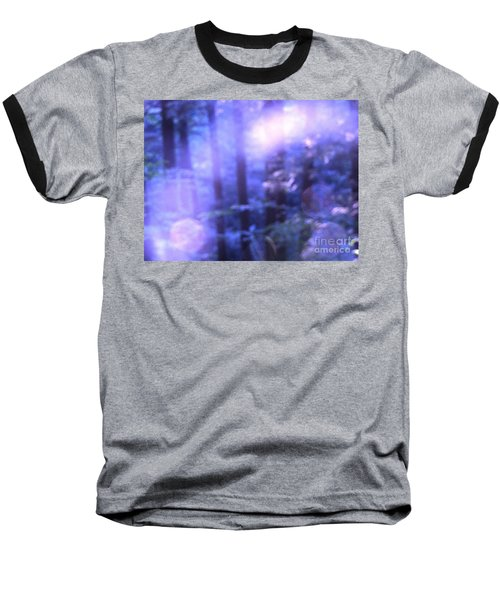 Blue Fairies Baseball T-Shirt by Melissa Stoudt