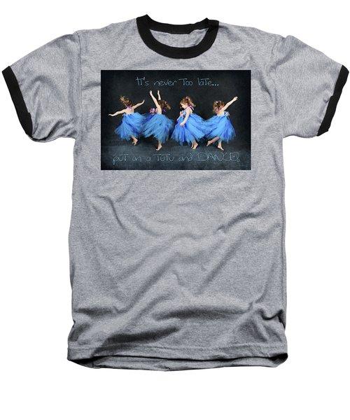 Blue Fairy Baseball T-Shirt