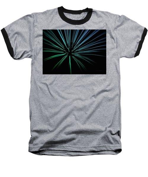 Baseball T-Shirt featuring the photograph Blue Firework by Chris Berry
