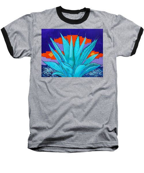 Blue Flame Companion 2 Baseball T-Shirt