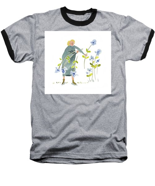 Blue Harvest Baseball T-Shirt by Leanne WILKES