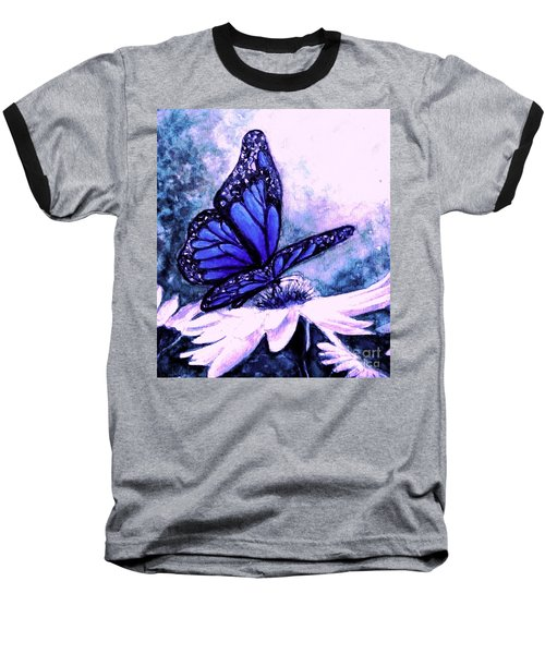 Blue Heaven Baseball T-Shirt by Hazel Holland