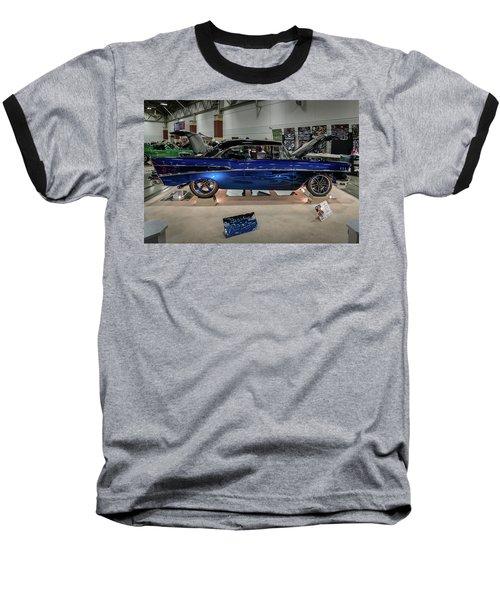 Baseball T-Shirt featuring the photograph Blue Heaven by Randy Scherkenbach