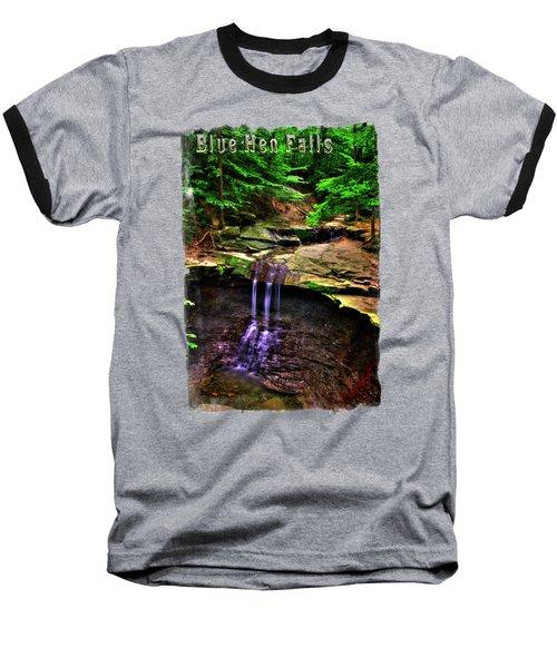 Blue Hen Falls Baseball T-Shirt