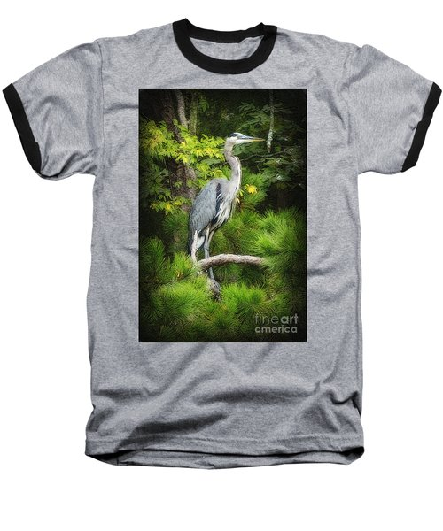 Blue Heron Baseball T-Shirt