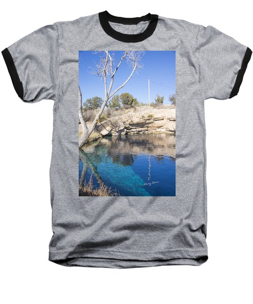 Blue Hole Baseball T-Shirt