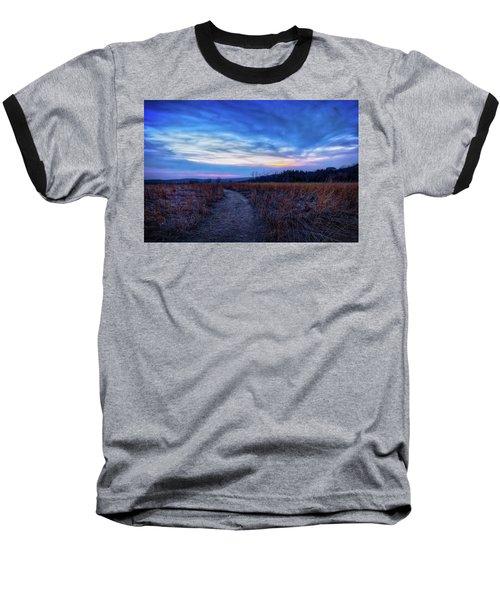Baseball T-Shirt featuring the photograph Blue Hour After Sunset At Retzer Nature Center by Jennifer Rondinelli Reilly - Fine Art Photography