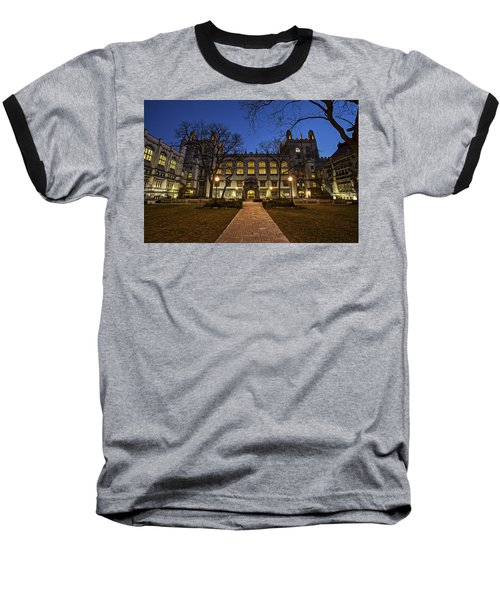 Blue Hour Harper Baseball T-Shirt by CJ Schmit