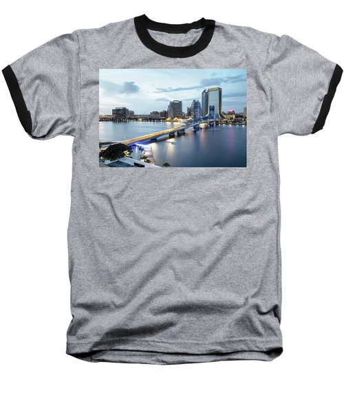 Blue Hour In Jacksonville Baseball T-Shirt