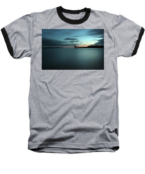 Blue Hour Salthill Baseball T-Shirt