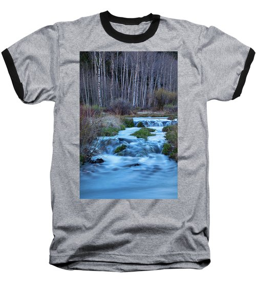 Blue Hour Streaming Baseball T-Shirt by James BO Insogna
