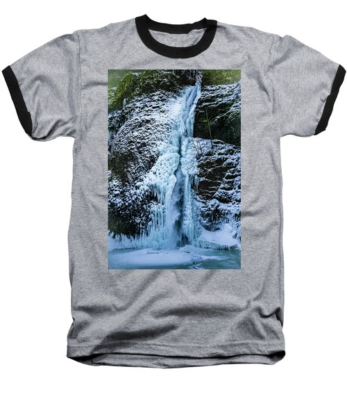 Blue Ice And Water Baseball T-Shirt