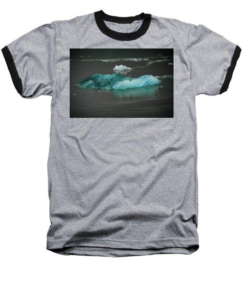 Blue Iceberg Baseball T-Shirt