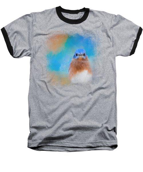 Blue Is Beautiful Baseball T-Shirt