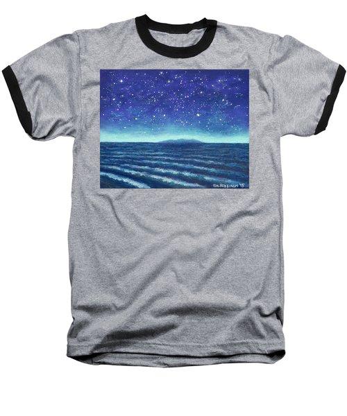 Blue Island 01 Baseball T-Shirt