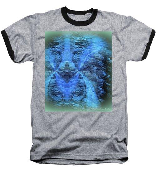 Blue Kitty Baseball T-Shirt