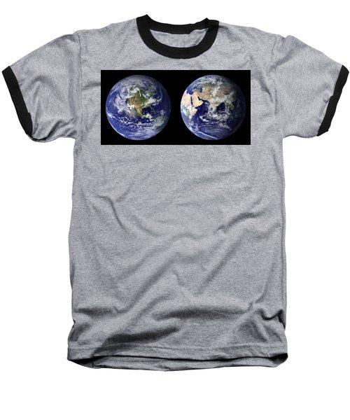Blue Marble Baseball T-Shirt