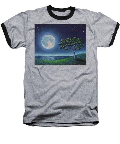 Blue Moon 01 Baseball T-Shirt